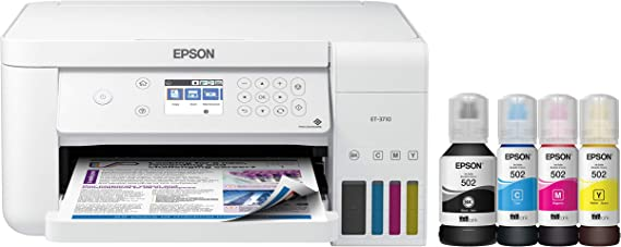 Epson EcoTank ET-3710 Wireless Color All-in-One Printer