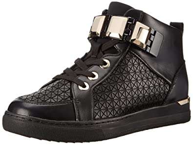 ALDO Women's Choilla Fashion Sneaker, Black Synthetic, ...