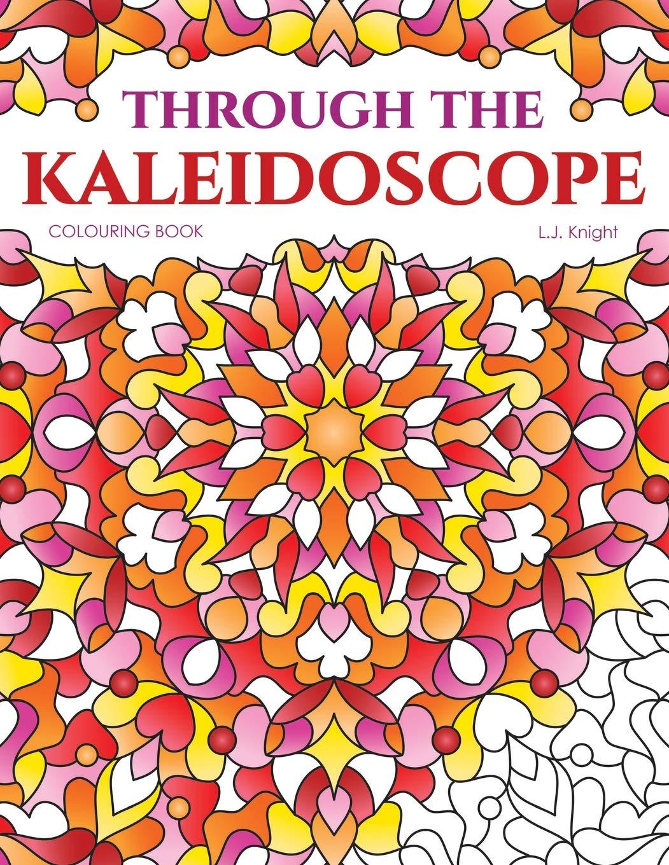 Through Kaleidoscope Colouring Book Symmetrical