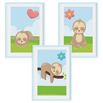 HappyWords® 3er Bilder Set - DIN A4 ohne Bilderrahmen | Bilder für ...