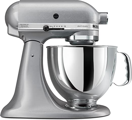 Amazon Com Kitchenaid Ksm150pssm Artisan Series 5 Quart Stand