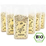 KoRo ● Bio Haferflocken ● Kleinblatt ● Glutenfrei ● 6er Pack ● 6 x 500 g (3 kg) ● Für Müsli und Porridge ● Fürs Frühstück ● Ohne Gluten