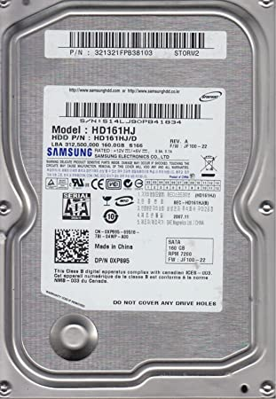 Samsung HD502HJ hard drive specifications