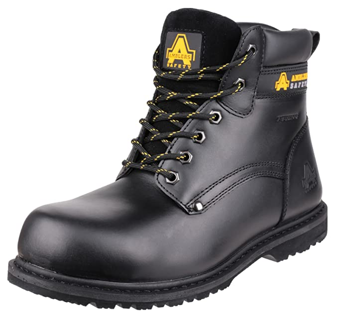 Amblers Safety 146 Welted S3 WP Black Size 8