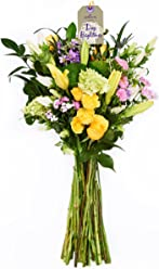 Hallmark Flowers Blooming Bright Bouquet (35-Stems), No Vase