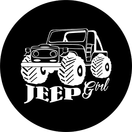 Amazon Com Jeep Girl Tire Cover With Back Up Camera For Jeep Jl Jlu