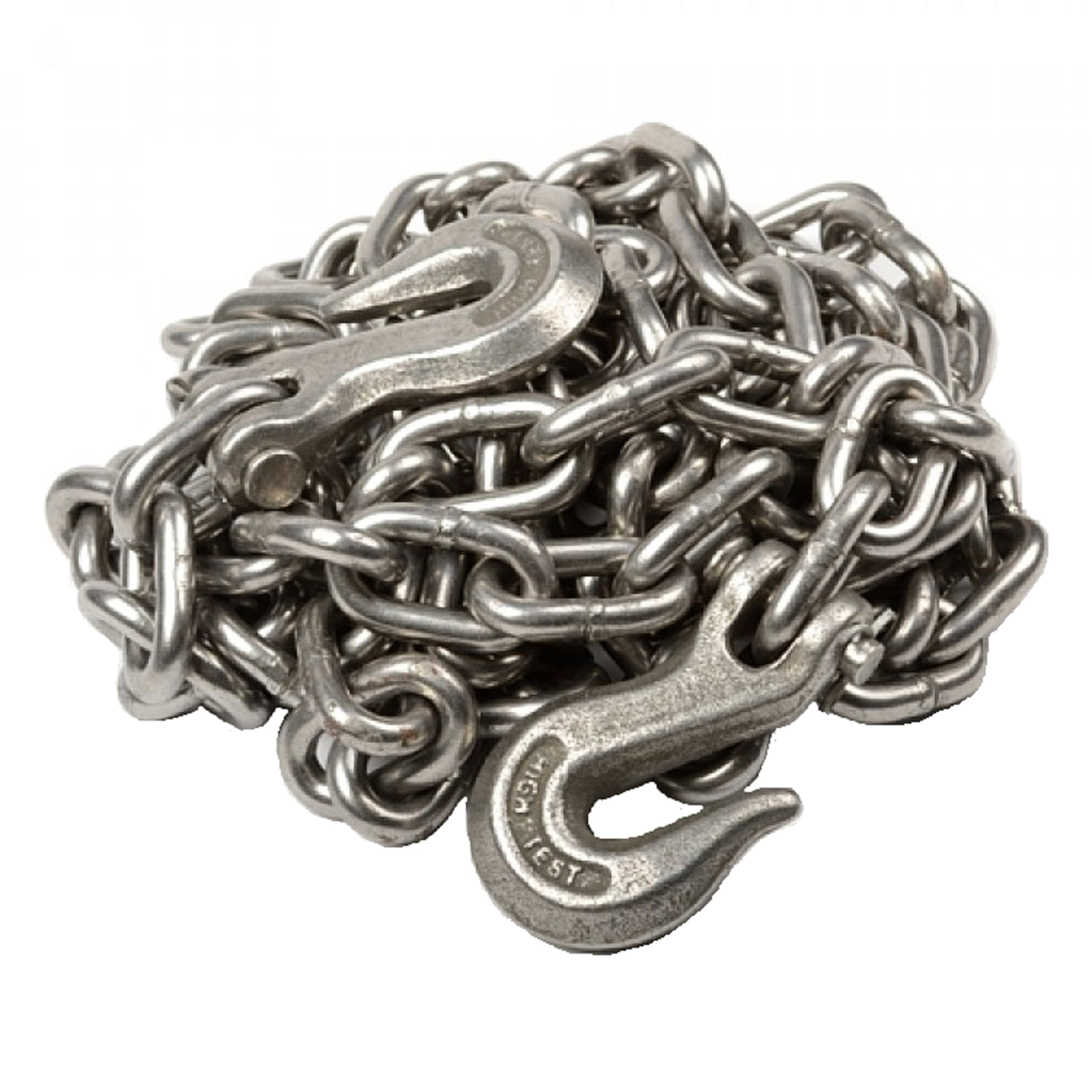 WennoW 3/8'' X 25' Heavy Duty Tow Chain Automotive Truck Towing 25ft Log Chain by WennoW