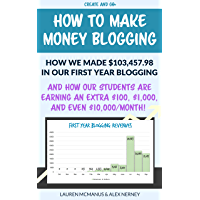 How to Make Money Blogging – How We Made $103,457.98 Our First Year and How Our Students Are Earning an Extra $100, $1000, or Even $10,000 Per Month! (English Edition)