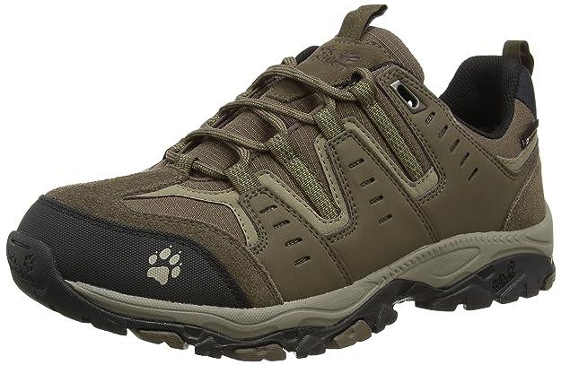 Jack Wolfskin Men's MTN Storm Texapore Low M Trekking- & Hiking Half-Shoes:  Amazon.co.uk: Shoes & Bags