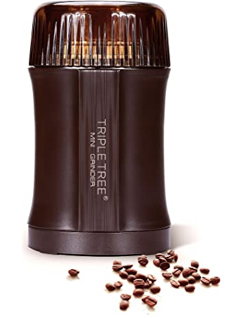 Molino manual de café, molino manual de café portátil con dientes de cerámica ajustables,