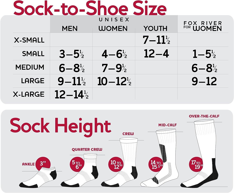 Fox River Womens Simply Stripe Ultra Lightweight Knee High Socks