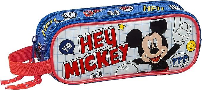 Safta Estuche Escolar Clubhouse Kids Luggage, Unisex-Child, Mickey Mouse: Amazon.es: Ropa y accesorios