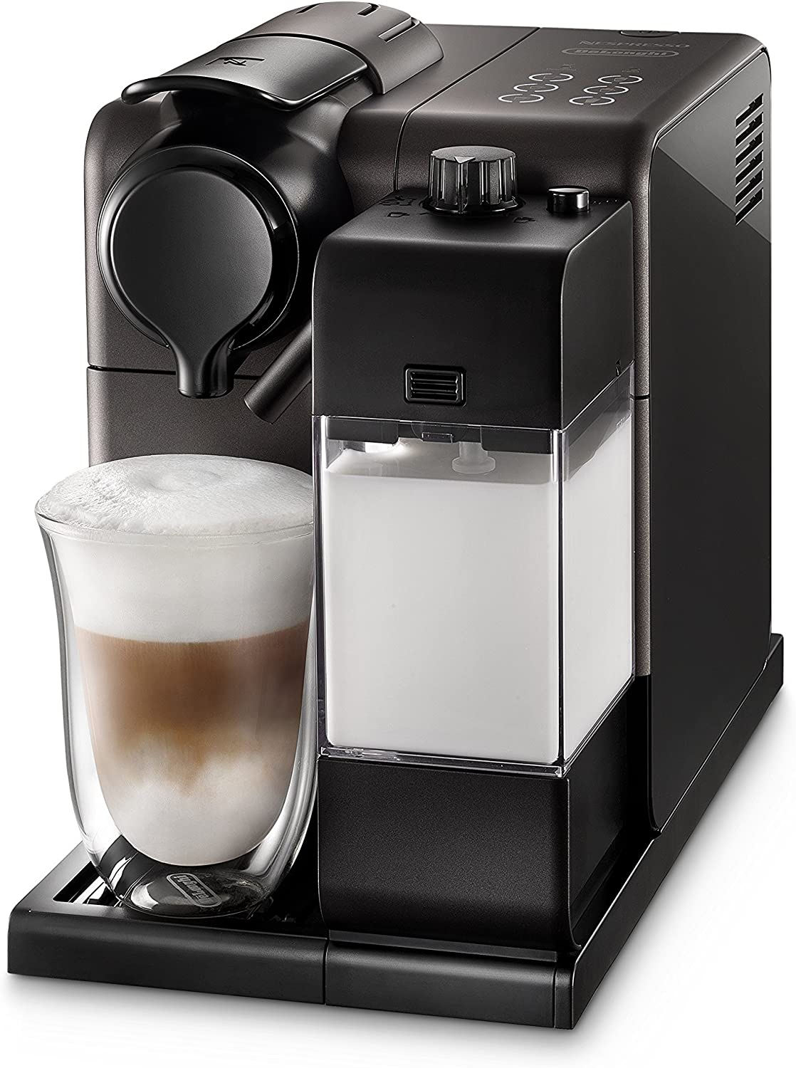 Nespresso EN550B Lattissima Touch Original Espresso Machine with Milk Frother by De Longhi, Black