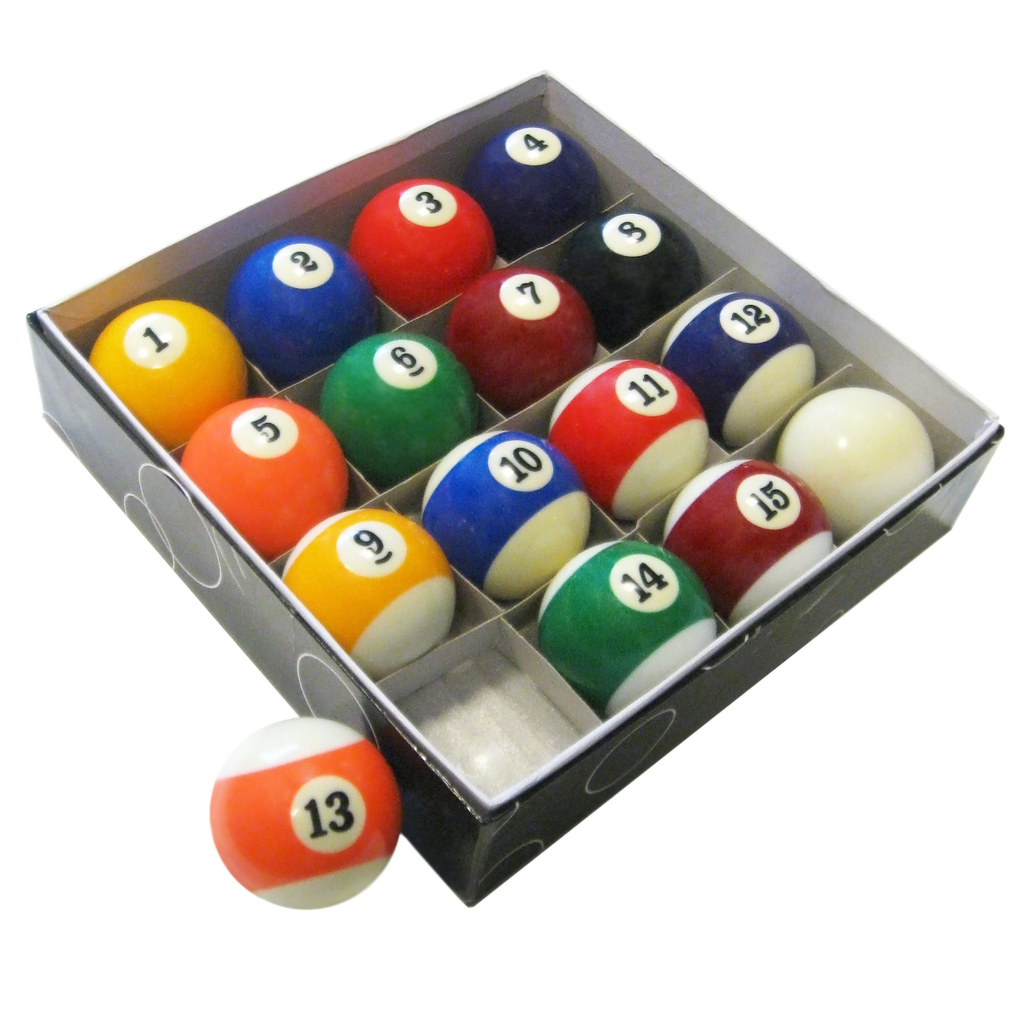 HATHAWAY Pool Table Regulation Billiard Ball Set by HATHAWAY