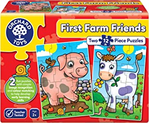 Orchard Toys 292 First Farm Friends Jigsaw Puzzles, Multi