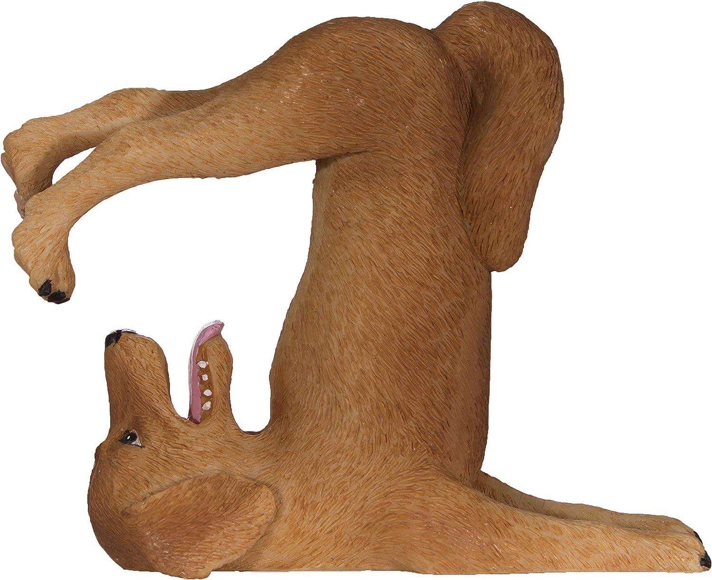 Downward Dog Yoga Figurine