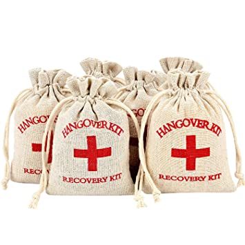 Amazon.com: maxdot 60 piezas Cruz Roja bolsas de muselina de ...