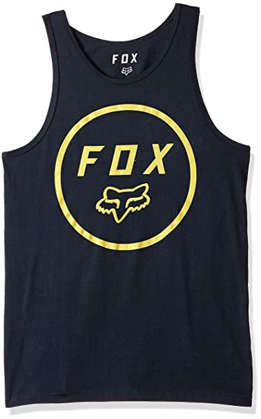 Fox Camiseta Sin Mangas Settled Premium Midnight (M, Azuloscuro)