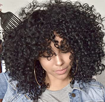 Amazon Com Mildiso Afro Wigs For Black Women Short Curly Wig With