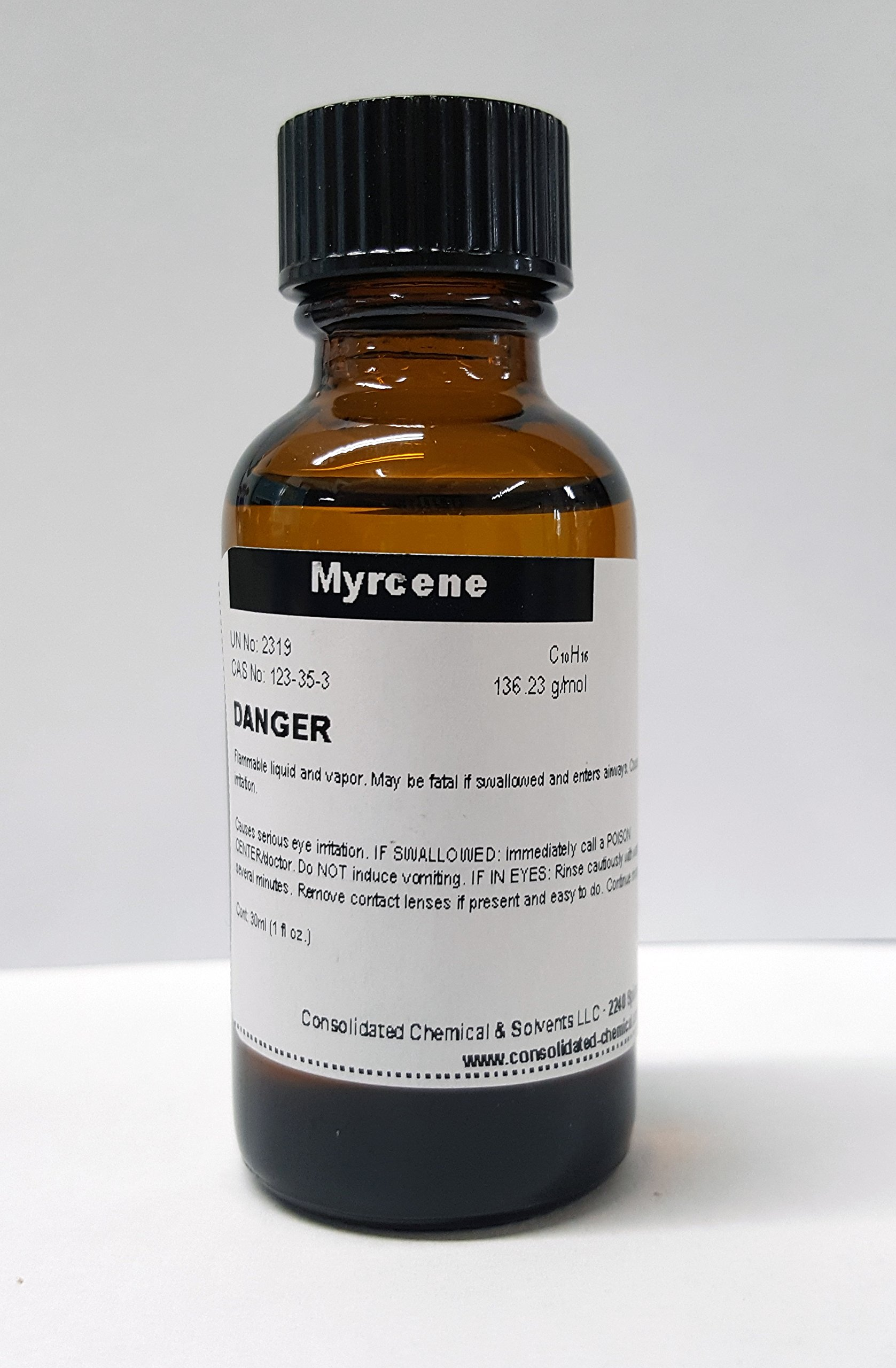CCS LLC Myrcene High Purity Aroma Compound 30ml (1 Fl Oz)