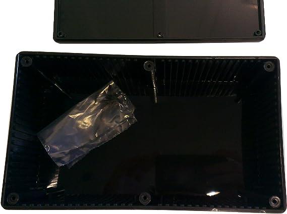 Hammond 1591Asbk Abs Project Box Black