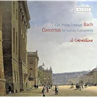 CPE Bach: Concertos for various instruments