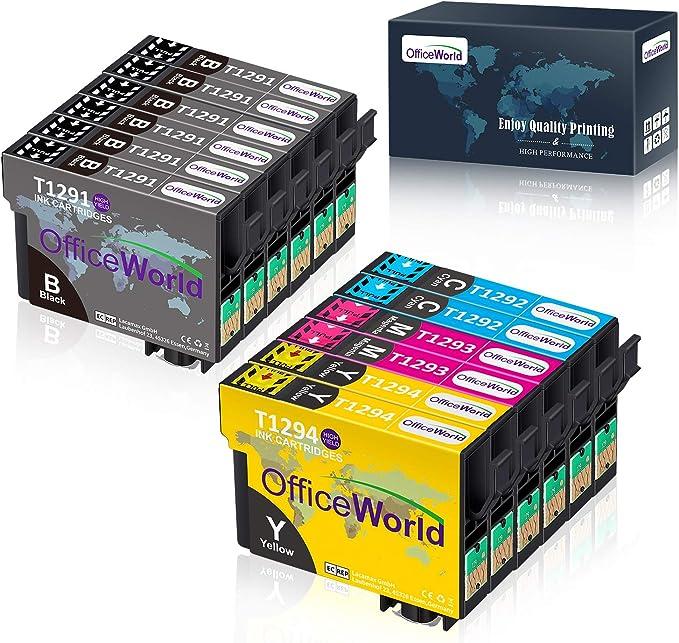 Imagen deT1291-T1294 (T1295) Cartuchos de tinta Compatible111