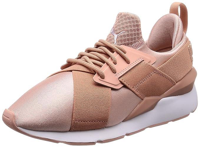 puma fiocco rosa scarpe donna