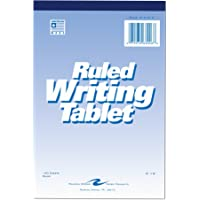 """Roaring Spring Writing Tablet, 6"""" x 9"""", 100 sheets, Lined"""