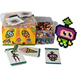 Award Winning Simbrix - Geek Kit For fans of Perler Beads & Lego -no pegboard or iron required