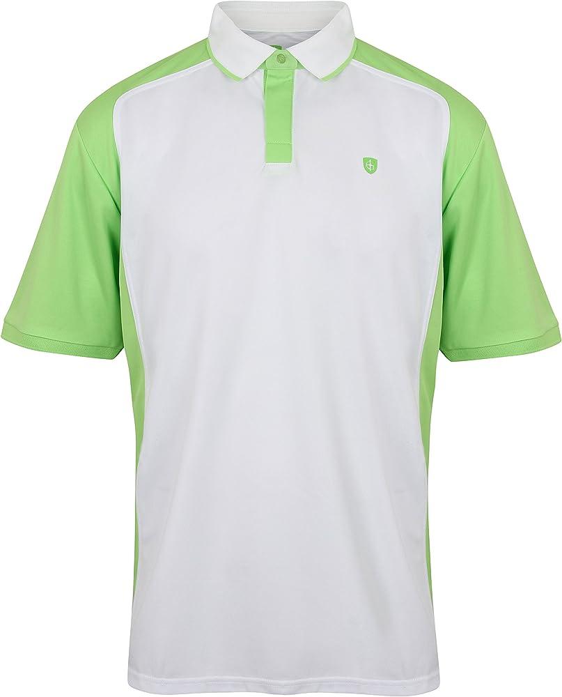 Isla Verde Camisa de igts1657 Polo para Hombre, Hombre, Color Pine, tamaño Large: Amazon.es: Ropa y accesorios