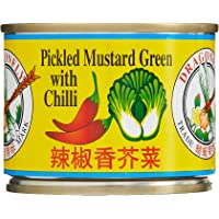 Dragonfly Salted Leaf Mustard with Chilli, 142g