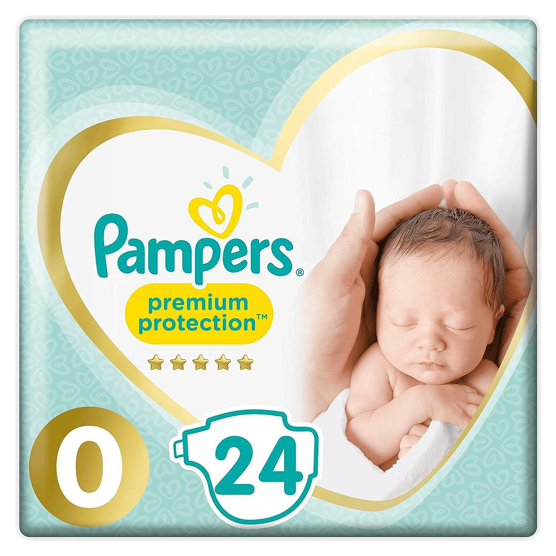 Pampers 81701245 pa/ñal desechable Ni/ño//ni/ña Beb/é prematuro 24 pieza Ni/ño//ni/ña, Beb/é prematuro, Tape diaper, 3 kg, 364,8 g, 381,1 g s - Pa/ñales desechables