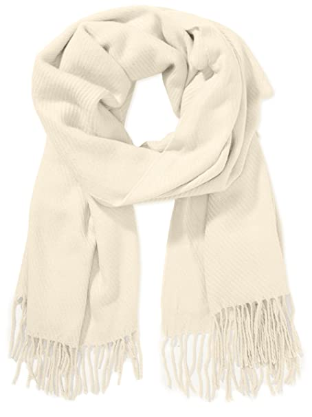 5fab6575a34580 PIECES, Unisex Schal KIAL LONG SCARF NOOS, Beige(Whitecap Gray), One ...