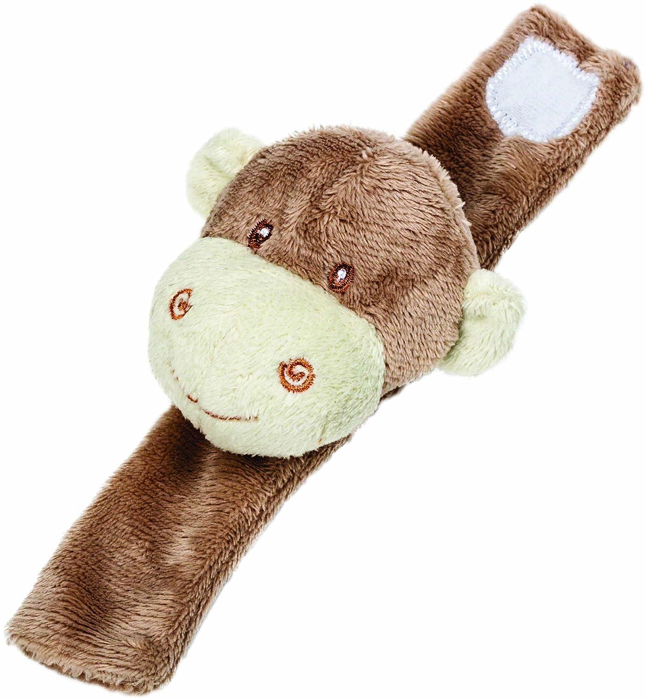Suki Gifts International Soft Toy (Monkey Wrist Rattle) 10070