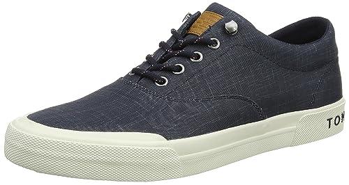 Tommy Hilfiger Heritage Washed Canvas Lace Up, Zapatillas para Hombre: Amazon.es: Zapatos y complementos