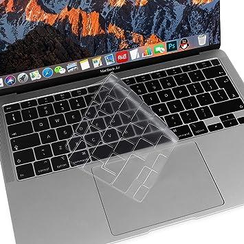 MOSISO Cubierta del Teclado Protectora Compatible con MacBook Air 13 2020 Release A2179 con Pantalla Retina & Touch ID, Mágico Retroiluminado ...
