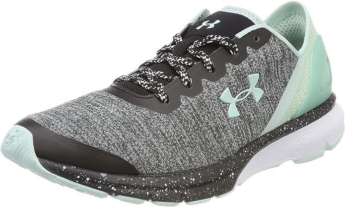 Under Armour UA W Charged Escape, Zapatillas de Running para Mujer, Negro (Black), 40.5 EU: Amazon.es: Zapatos y complementos