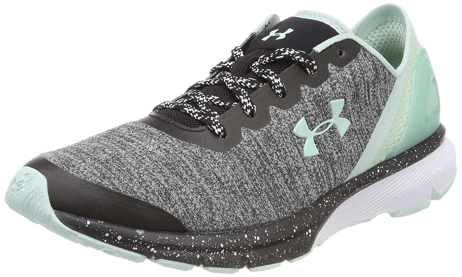 Under Armour Women's Charged Escape Running Shoes - SS18 B075MPK51Y 6 B(M) US Black/White/Refresh Mint