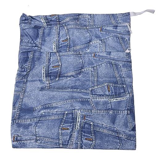 9 opinioni per SODIAL (R) Sacchetto pannolini di stoffa lavabile (tasca blue denim)