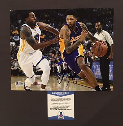 d9371cbd880 Image Unavailable. Image not available for. Color: Brandon Ingram  Autographed Signed 8x10 ...