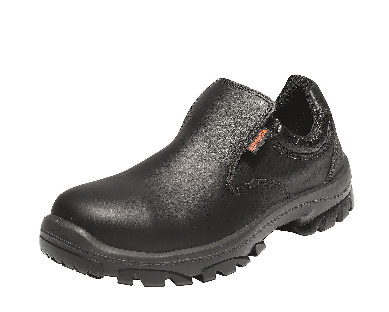 Emma Sicherheit Schuhe – d-xd schwarz S3 Lo Slip auf Sicherheit Schuh PU SRC – Venus
