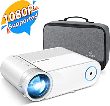 VANKYO Leisure 460 Mini Proyector, 4000 LUX Proyector Portátil ...