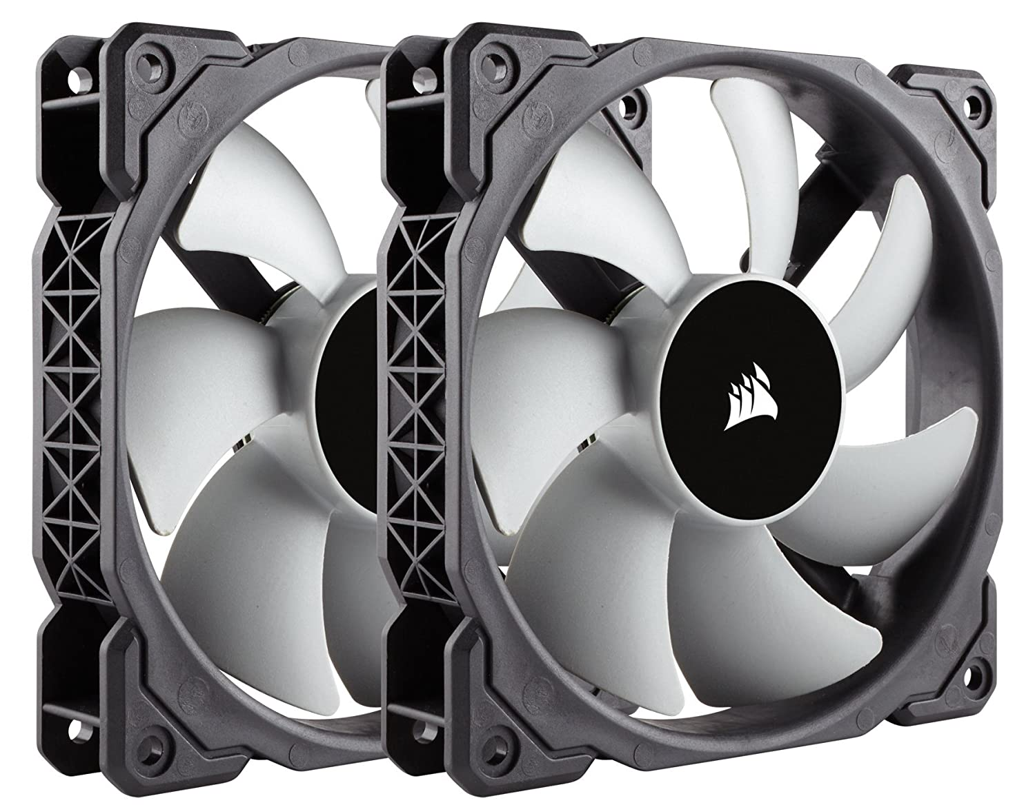 Corsair CO-9050039-WW ML120, 120mm Premium Magnetic Levitation Fan (2-Pack)