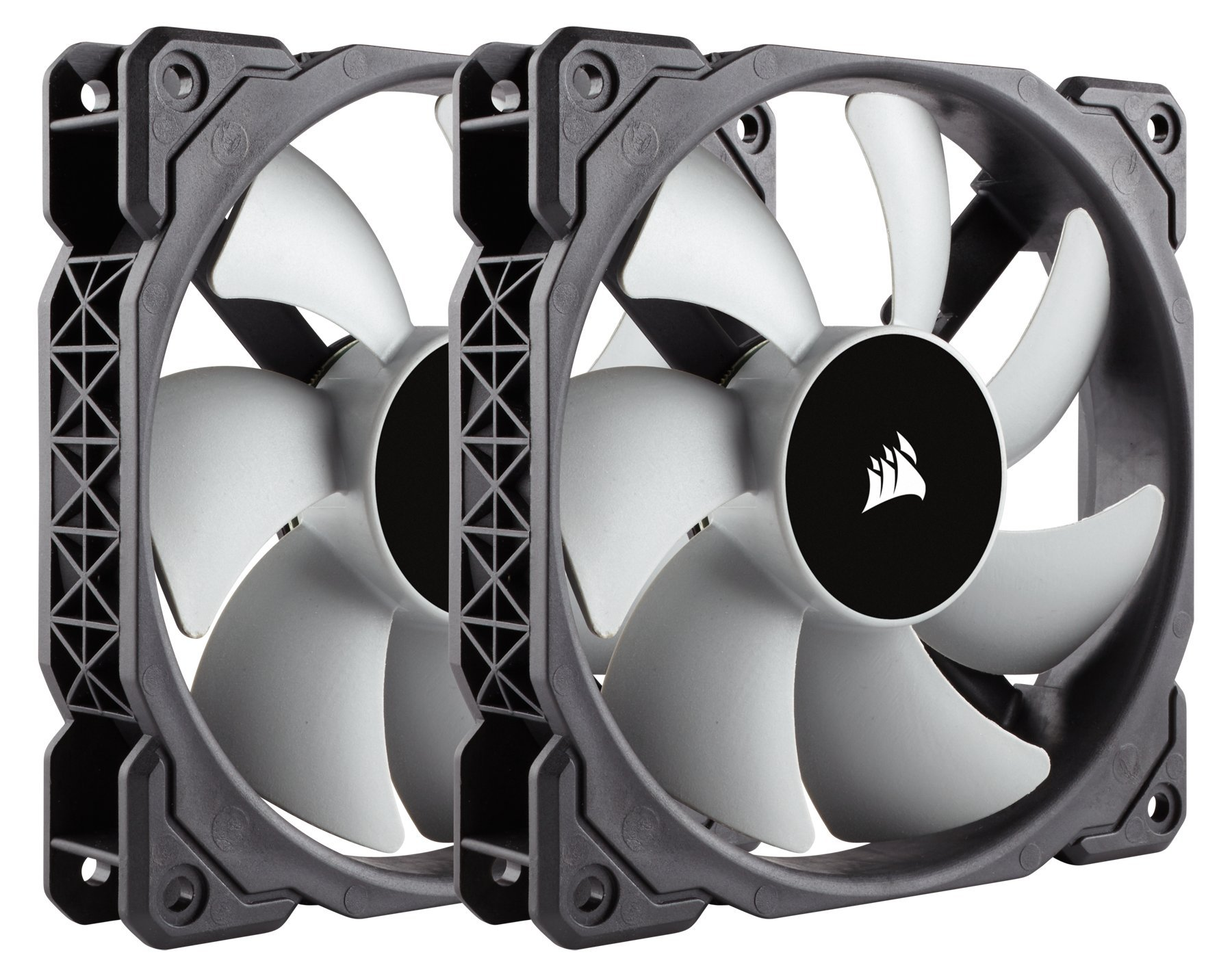 Corsair ML120, 120mm Premium Magnetic Levitation Fan (2-Pack) by Corsair
