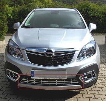 Opel Mokka cromo Apertura frontal inferior ventilación: Amazon.es: Coche y moto