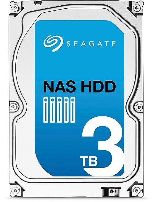109 opinioni per Seagate NAS ST3000VN000 HDD, 3 TB, Nero