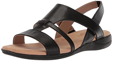 LifeStride Women's Ezriel Sandal, Black, ...