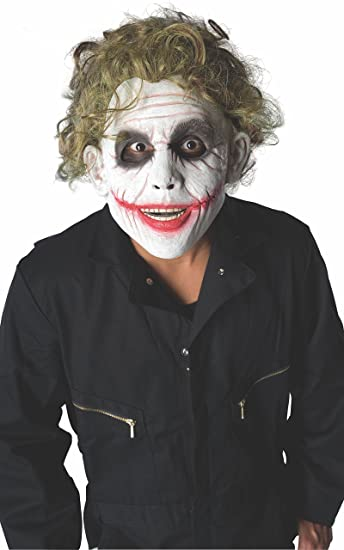 batman the dark knight childs wig the joker