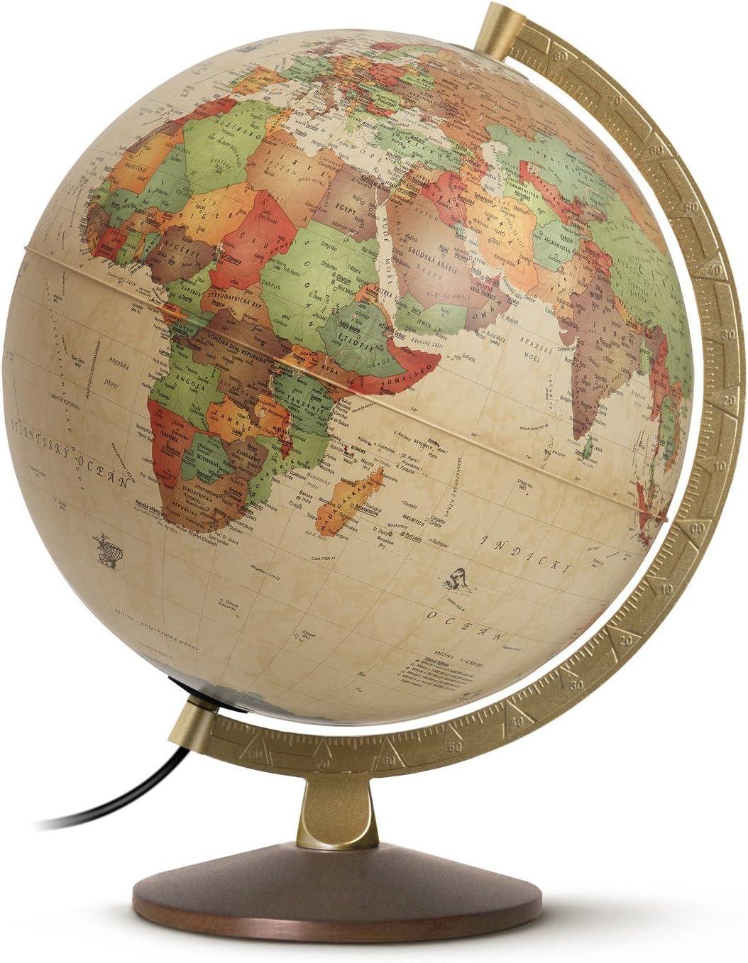 Objet d/écoratif Globe Terrestre Arcade D 25 cm Atmosphera